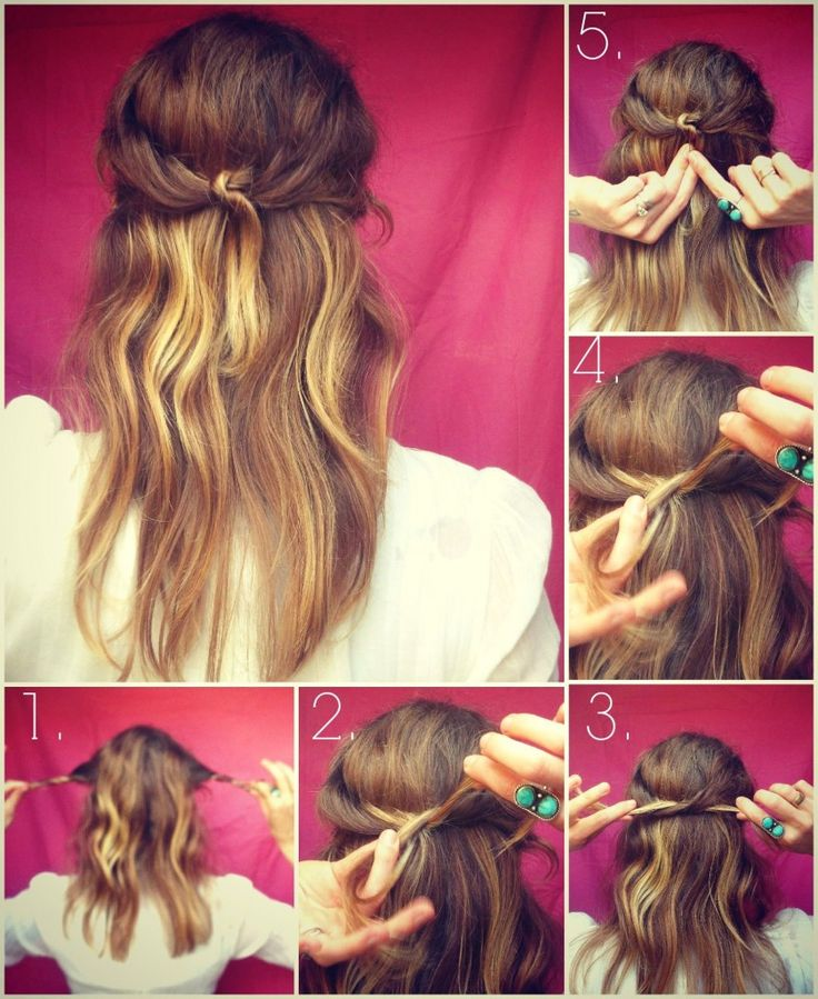 How To Hair - DIY Hair Resource From How To Hair Girl | #DIYhair Friday....Knotty girl half-up hairstyle.