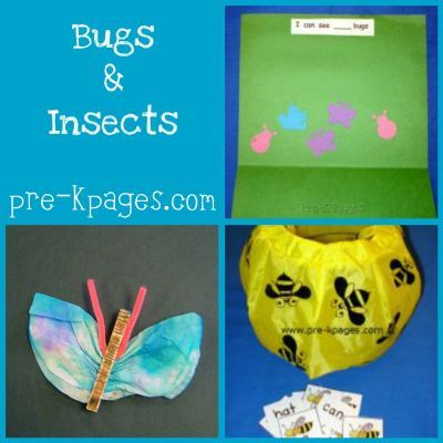Activities Ideas And Printables For An Insect Theme In Your Preschool Or Kindergarten Classroom