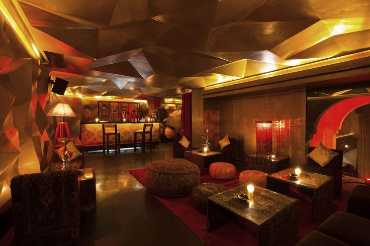 Azar Marrakech#Shisha lounge#Mezzanine
