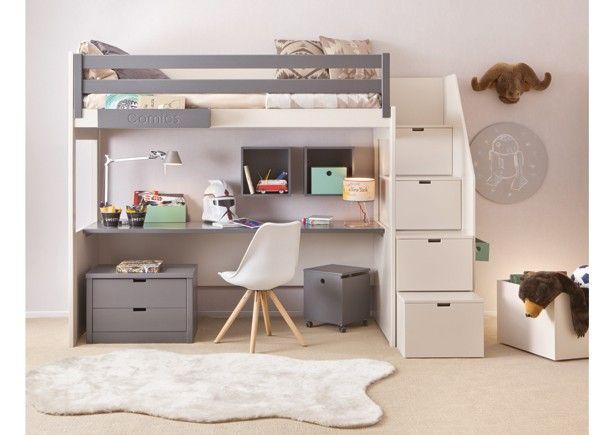M s de 25 ideas incre bles sobre litera escritorio en - Literas con escritorio abajo ...