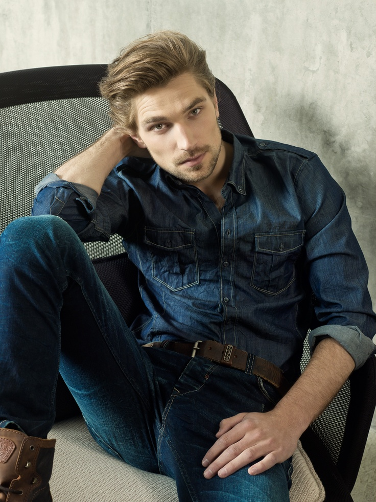Model Texas Olsson for Salsa's FW 2012-13 catalogue #salsa #denim #jeans #fashion #fw12 #aw12 #collection #campaign