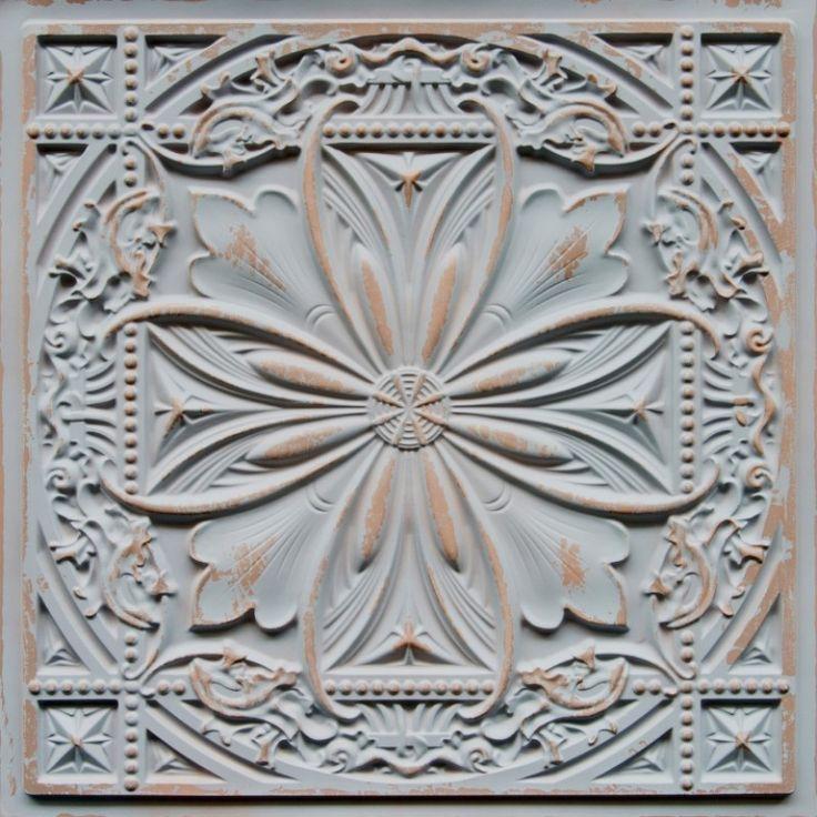 faux tin ceiling tile 24 x 24 dct 10 - Faux Tin Ceiling Tiles