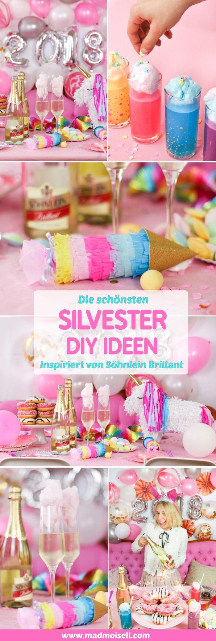 21 best diy silvester ideen f r 39 s neue jahr images on. Black Bedroom Furniture Sets. Home Design Ideas