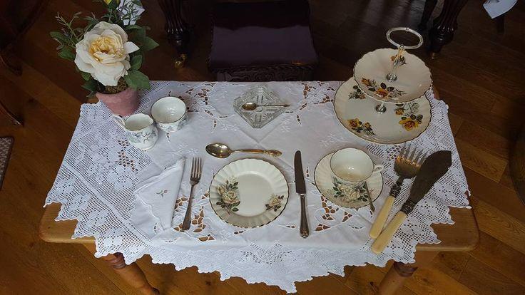 Afternoon tea anyone? #afternoontea #vintagechina