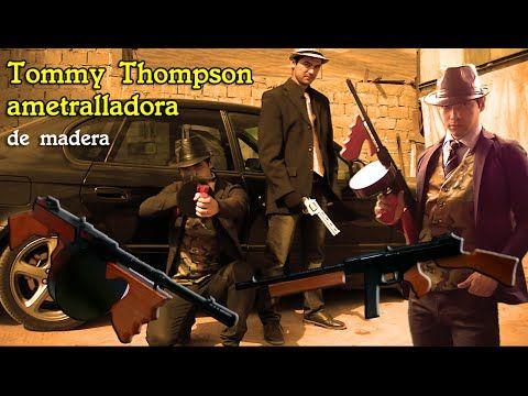 crea tu ametralladora Tommy Thompson de madera para disfraces, cortometrajes o un simple adorno :)