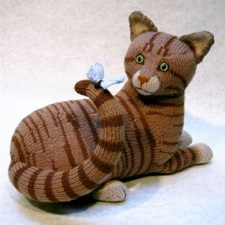 Tabby (Pattern) Keep purrectley still, someone's on your tail !!