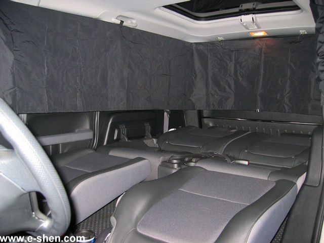 Privacy curtain for Honda Element