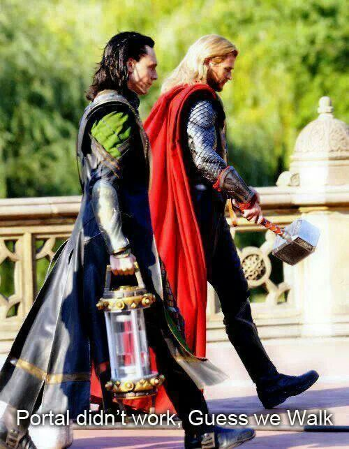 If I ever saw Thor and Loki walking down the street I would not hesitate to maul them right then and there.