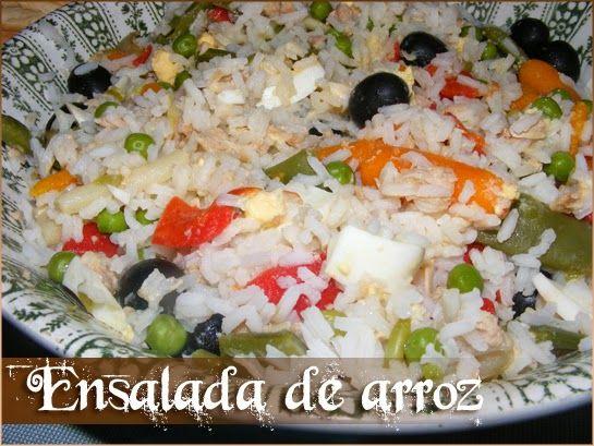 Los propoints De Soul: Ensalada de arroz