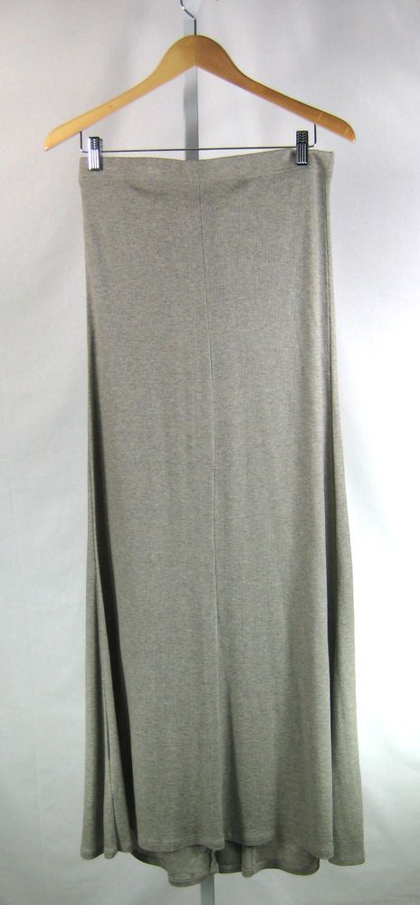 "BCBG MAXAZRIA NWT Heather Moss ""Sydnee"" Maxi Full Length Skirt Size Medium #bcbg #Maxi"