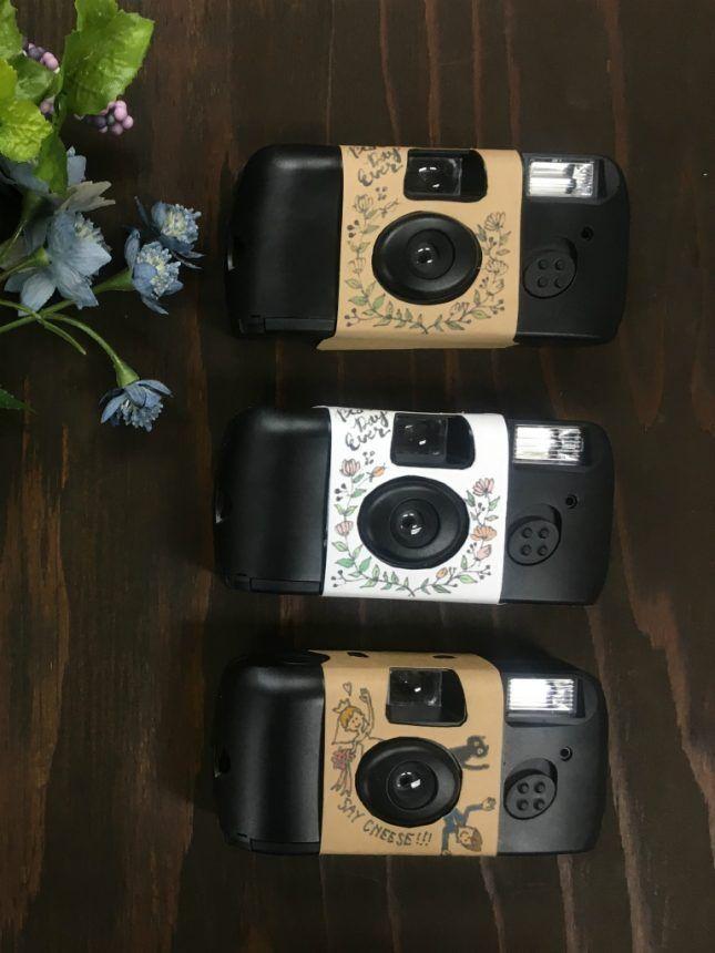 結婚式に切って貼るだけのインスタントカメラカバーに新デザイン登場by ARCH DAYS編集部