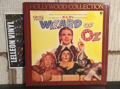 The Wizard Of Oz Original Soundtrack LP CBS70289 Film Movie 60's Judy Garland Music:Records:Albums/ LPs:Soundtracks/ Themes:Film