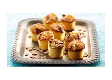 Marcipan muffins - lækre og nemme muffins - se opskrift her