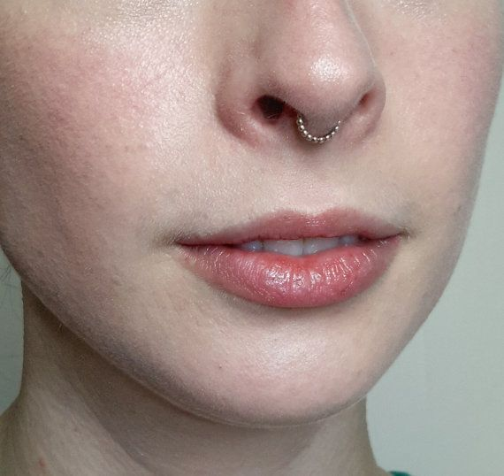 Beaded Gold Septum Ring, this is so elegant! Tiny septum jewelry, minimal septum ring,  by CatsCuriosityShop