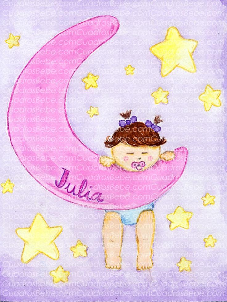15 best LUNA Y ESTRELLA images on Pinterest  Stars Good night
