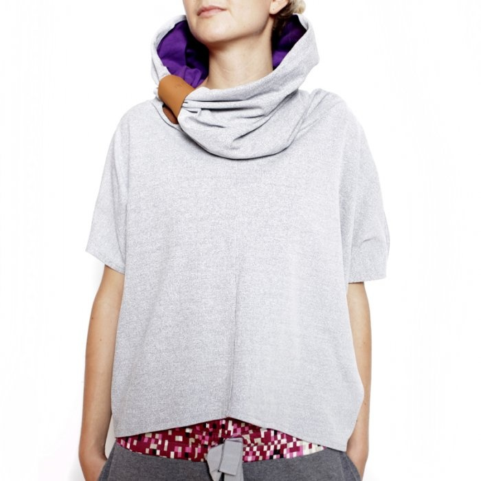 NubeeCiałoZakrywacz- bluza z SzyjoOtulaczem