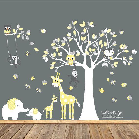 Best  Stickers Arbre Blanc Ideas On Pinterest Mur En Sticker - Nursery wall decals gender neutral