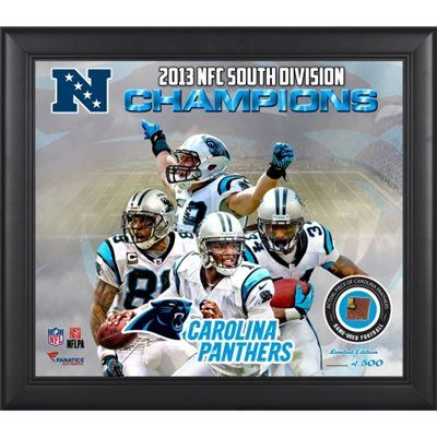 CAROLINA PANTHERS NFC DIVISION CHAMPIONS | Carolina Panthers 2013 NFC South Champs Framed 15'' x 17'' Collage ... CAROLINA PANTHERS 2013 NFC DIVISION CHAMPION'S. QB CAM NEWTONS 3RD YEAR 2011 NFL DRAFT. COACH RON RIVERIAS 3RD YEAR. 2013 ROAD TO SUPER BOWL XLVIII NEW YORK. 2014 SEASON SUPER BOWL XLIX ARIZONA.