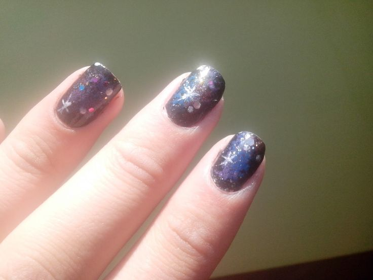 Nail Art Marathon- Galaxy Nails ~ Universe Of M