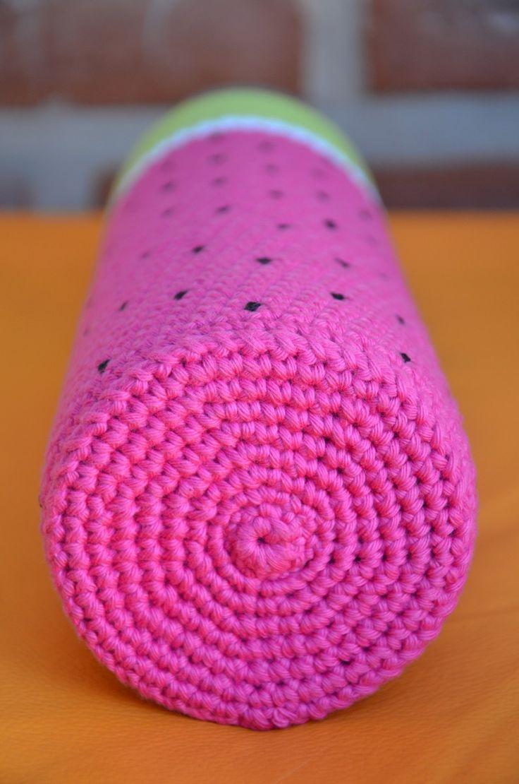 Funda Tejida A Crochet Con Base Termo Bala De 1 Litro Mate - $ 200,00 en MercadoLibre