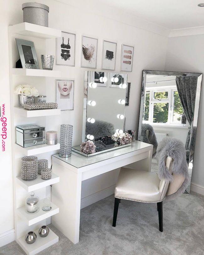 Pinterest Nandeezy D R E A M D E C O R In 2019 Room Decor Vanity Room Home Decor Pinterest N Bedroom Decor Room Ideas Bedroom Room Decor