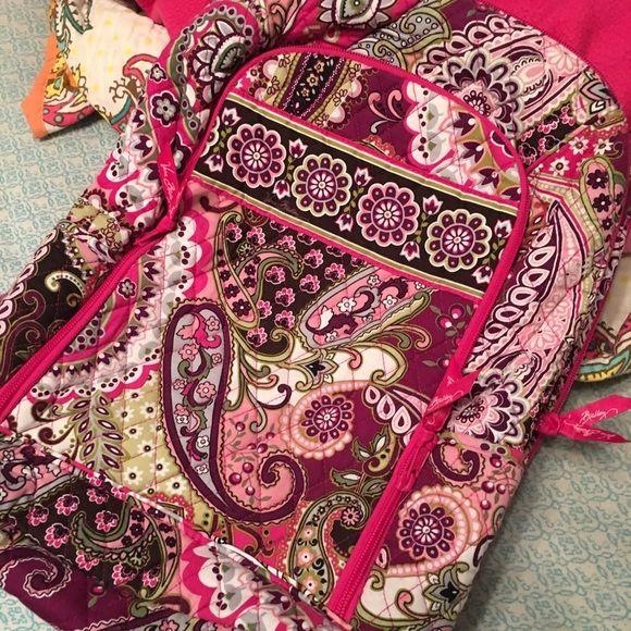 "Vera Bradley Laptop Backpack Used a couple times, in great condition. Fits MacBook 13 "" Vera Bradley Bags Laptop Bags"