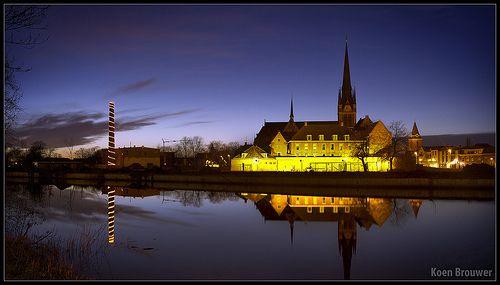 20131225 Kasteel Woerden by Night