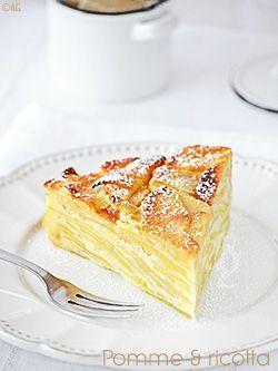 Gâteau « très » pomme à la ricotta