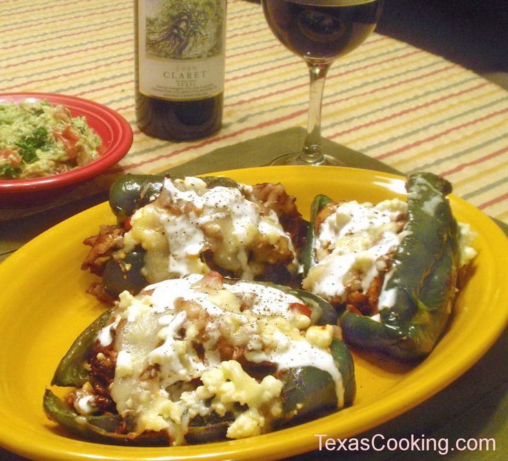 Chicken Chile Rellenos recipe from Grandma's Cookbook of kitchen-tested recipes, adapted from the Reata Cookbook.