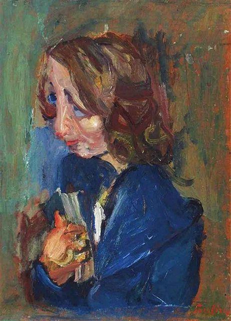 Chaïm Soutine (Jan 13, 1893 – Aug 9, 1943) French painter of Belarusian Jewish origin. ~Via Elena Alcazar