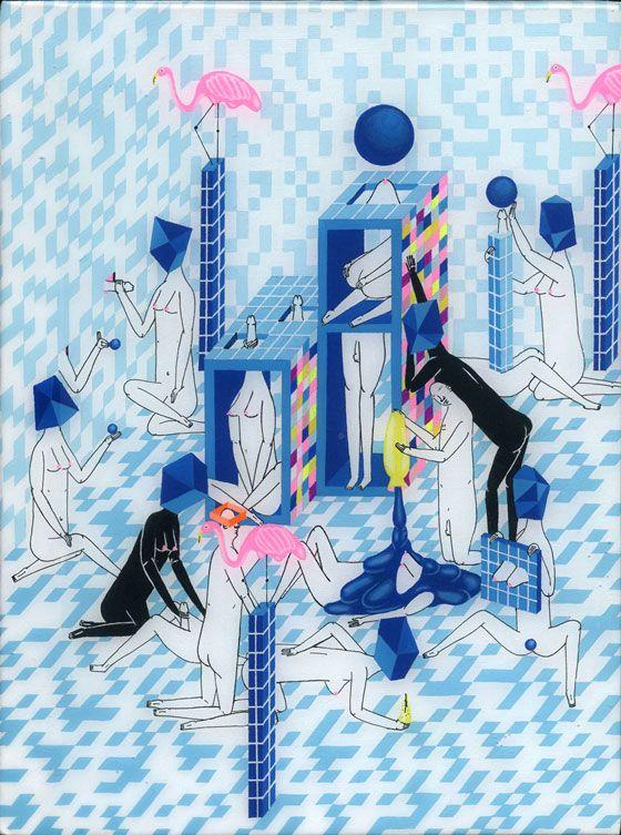 "Juxtapoz Magazine - Mark Whalen's ""Pleasures"