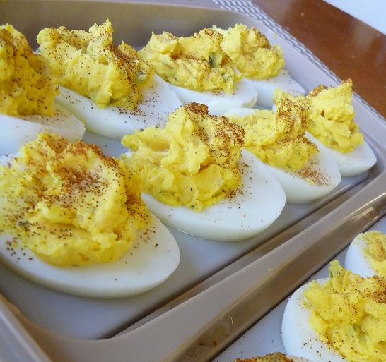 Traditional Deviled Eggs | appetizers and dips | Pinterest
