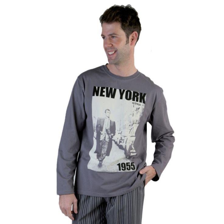 Pijama Pettrus 5334 New York Calidad al Mejor Precio
