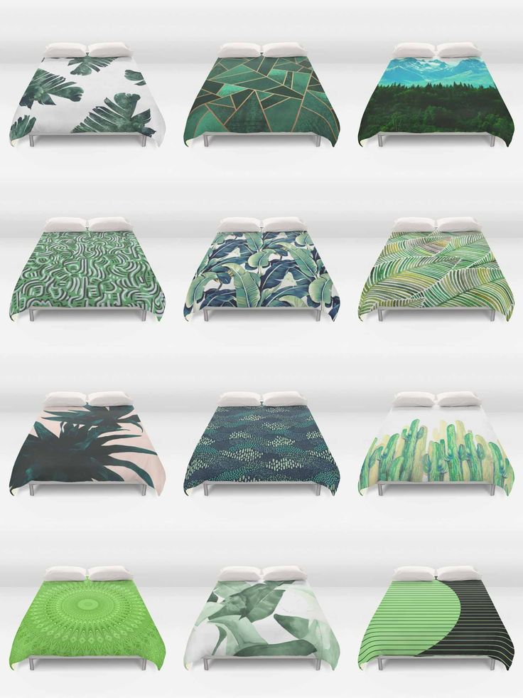 Society6 Green Duvet Covers - Society6 is home to hundreds of thousands of artists from around the globe, uploading and selling their original works as 30+ premium consumer goods from Art Prints to Throw Blankets. They create, we produce and fulfill, and every purchase pays an artist.