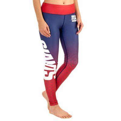 New York Giants Women's Gradient Leggings – Royal Blue