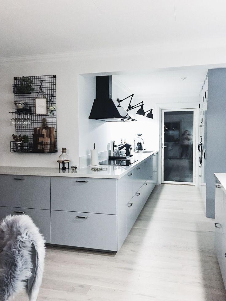 Ikea Veddinge Grå Graue Küche Traumküche Küche Einrichten
