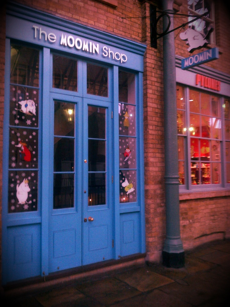 A blast from the past: The Moomin Shop, Covent Garden, London.