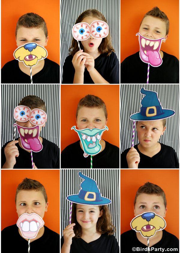 Printables Halloween Freebies à telecharger Gratuitement sur BirdsParty.fr #Halloween #Printables #Freebies