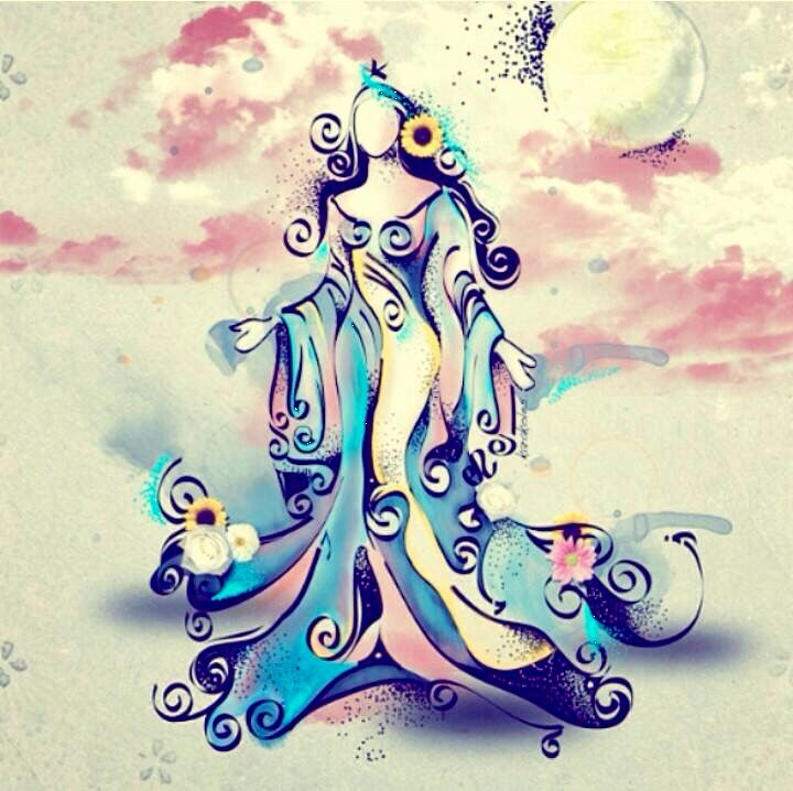 Yemanja, Brazilian goddess of the sea, is the essence of motherhood, the protector of children, fishermen and sailors, and most importantly, she is the sea itself. #theaphroditeway
