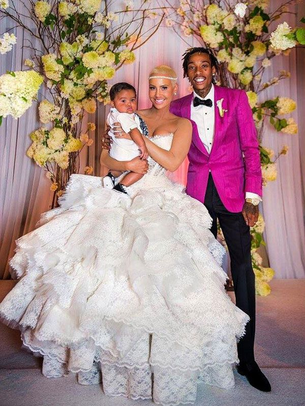 Amber Rose's Wedding Dress: She Shares Photos in Honor of Her First Anniversary! | People.com http://stylenews.peoplestylewatch.com/2014/08/18/amber-rose-wedding-dress-photos/