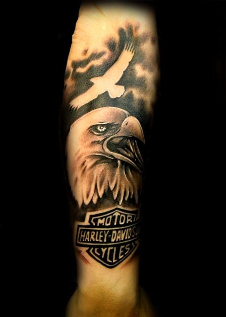 55 best harley davidson tattoos images on pinterest harley rh pinterest com hd eagle tattoos Harley-Davidson Tattoos for Ladies