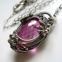 Rękodzieło z Inspirello: Wire Jewelrynecklac, Collaresbrazaletesanillo