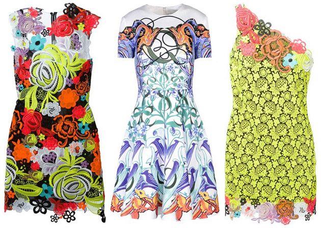 Sommerkleider knielang etui
