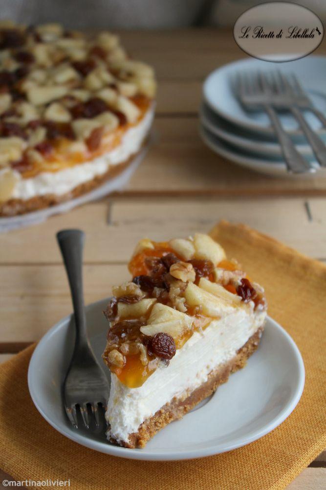#Cheesecake allo #strudel #ricetta #foodporn #gialloblogs