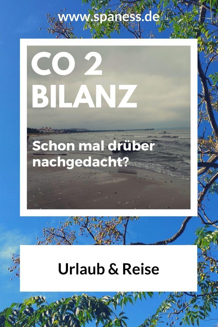 CO2 Verbrauch im Urlaub - schon mal drüber nachgedacht?