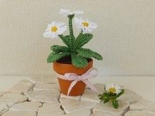 Blumen häkeln–Primeln–Frühjahrsblüten DIY