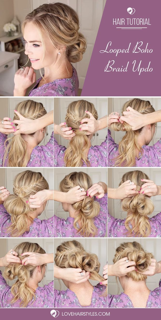 Haare Flechten Arten How To French Braid Simple Tutorials Haare Haarfrisuren