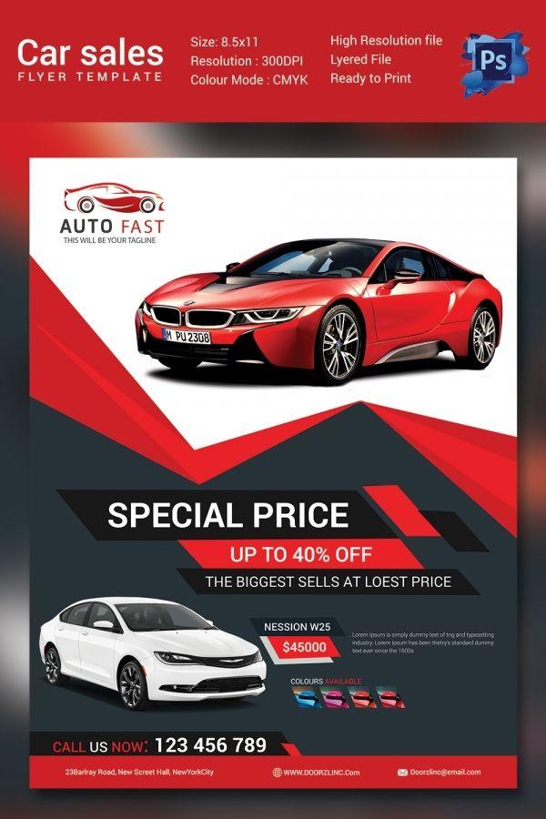 Car Dealership Flyer Templates