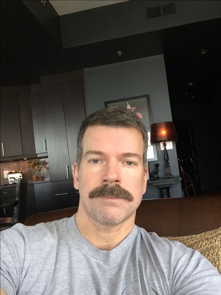 Classic chevron moustache