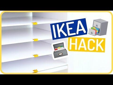IKEA HACK Kallax Regal Einsatz by Sissi - YouTube  IKEA  Pinterest
